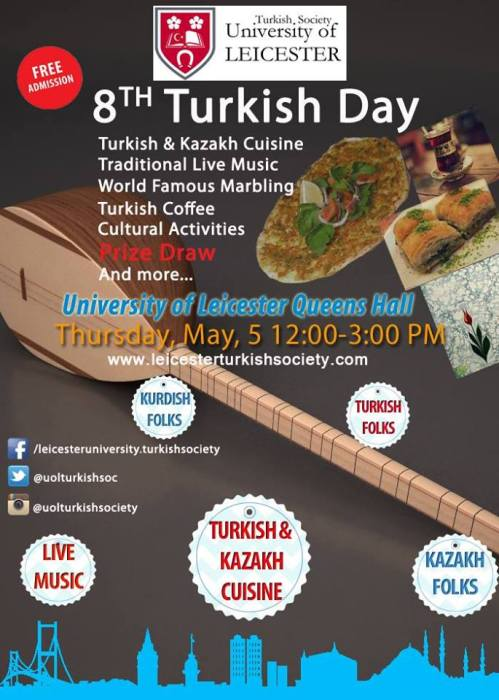 8th Annual Turkish Day flyer